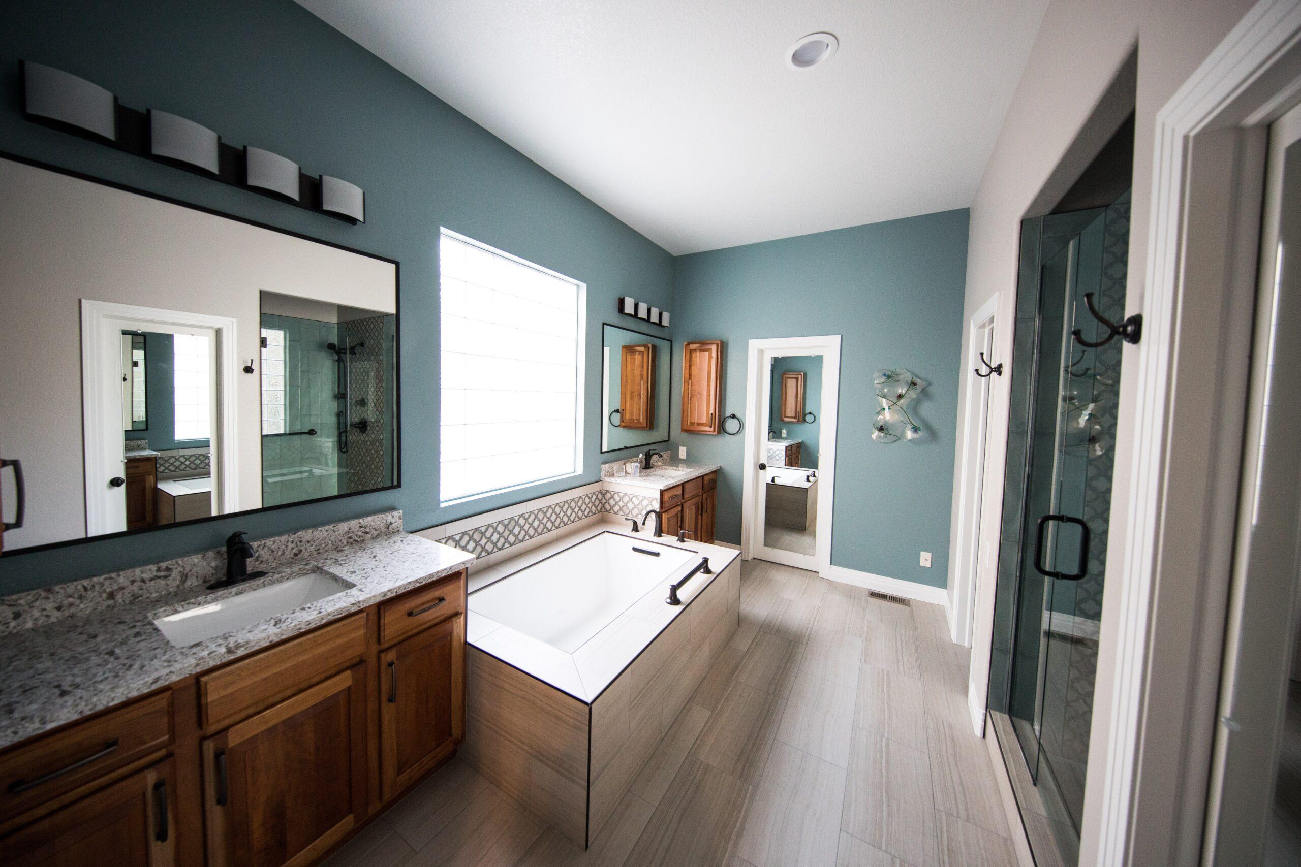 Ontwerp kiezen van uw nieuwe badkamer